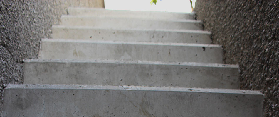 Treppen Bauarbeiten in Südtirol